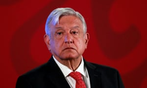 Amlo in March. Former foreign minister Bernardo Sepúlveda said he saw no justification for attending an 'irrelevant ceremony' in Washington.