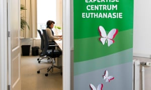 At the 'Levenseindekliniek', End of Life Clinic, at The Hague. The clinic is a 'last resort' for those who have been refused euthanasia elsewhere.