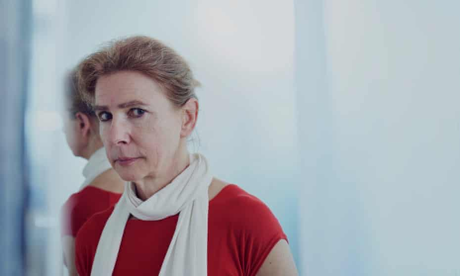 Lionel Shriver photographed in London earlier this month.