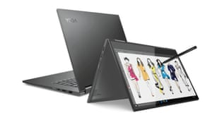 The Lenovo Yoga series of convertible machines offer greater flexibility of form than standard laptops.