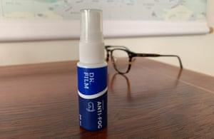 Dr Film anti-fog glasses spray