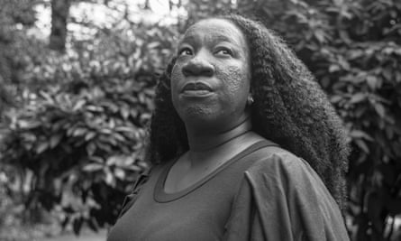 Tarana Burke, photographed in Baltimore by Devin Allen for the Observer New Review earlier this month.