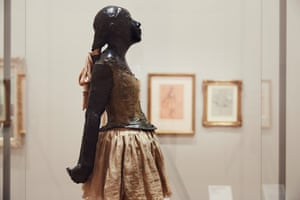 The Little Fourteen-Year-Old Dancer by Edgar Degas at the National Gallery of Victoria