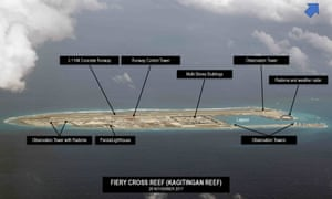 Fiery Cross Reef in the South China Sea