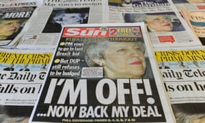 The front pages of Thursday's papers