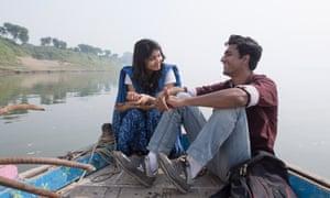 Shweta Tripathi and Vicky Kaushal in Masaan.
