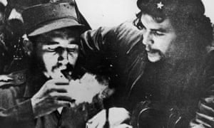 Fidel Castro, left, and Che Guevara in the 1950s.