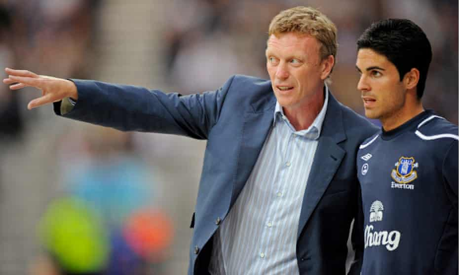 David Moyes signed Mikel Arteta for Everton from Real Sociedad in 2005.