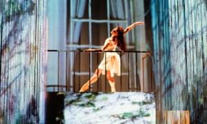 Danila Marzilli as Juliet in Ballet Cymru's Romeo a Juliet