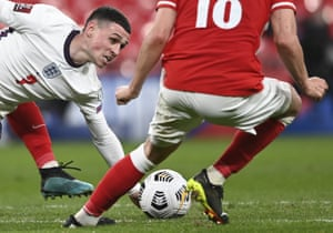 England's Phil Foden