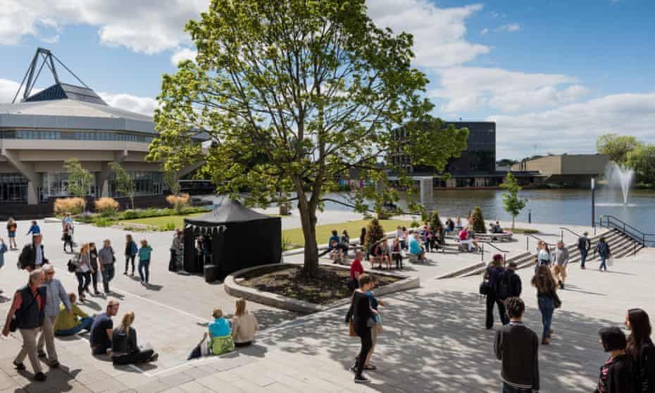 University of York open day.