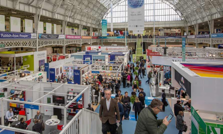 London Book Fair, which is usually held at London Olympia.