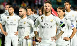 Real Madrid lost 4-2 to neighbours Atlético Madrid in the Uefa Super Cup – Julen Lopetegui's first competitive game in charge after replacing Zinedine Zidane.