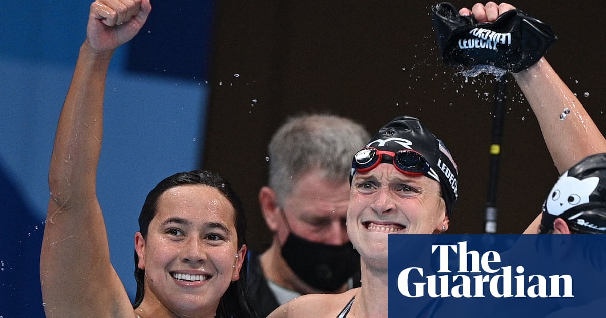 Katie Ledecky finally strikes Tokyo gold in first Olympic women's 1500m free