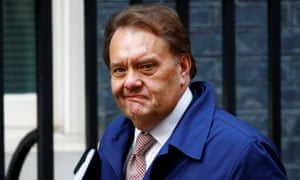 British Member of Parliament, John Hayes, arrives in Downing Street, in London, Britain November 15, 2018.