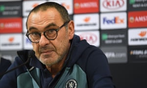 Chelsea coach Maurizio Sarri makes his first public comments about the alleged racist abuse of Raheem Sterling during Chelsea's 2-0 win Stamford Bridge at the weekend