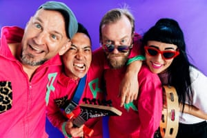 Australian band Regurgitator, who have their first kids' album out in March