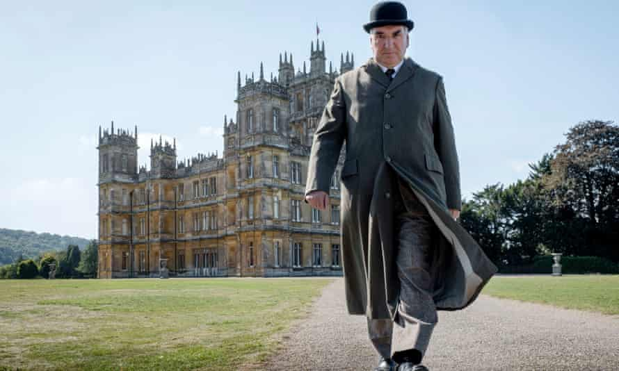 Jim Carter as Mr Carson in the 2019 Downton Abbey film.
