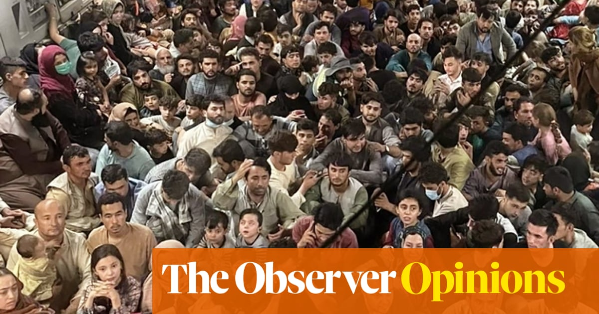 Britain's offer to Afghan refugees is not 'generous'. It's blindly inhumane
