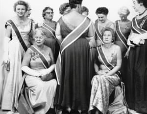 The Generals of the Daughters of the American Revolution in October 1963.