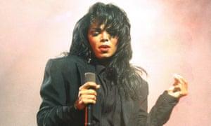 Jackson performing in Rotterdam, October 1990.