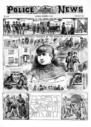 The Police News front page on 17 November 1888.
