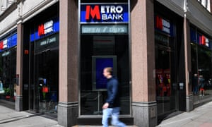 A Metro Bank branch in London