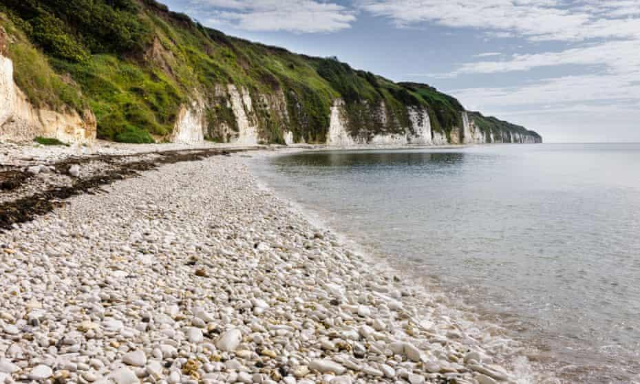 The beach at Dane's Dyke.
