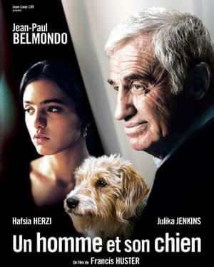 Jean-Paul Belmondo in Un homme et son chien, 2008