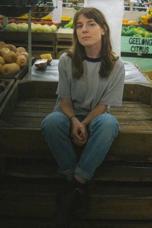 Australian singer-songwriter Angie McMahon