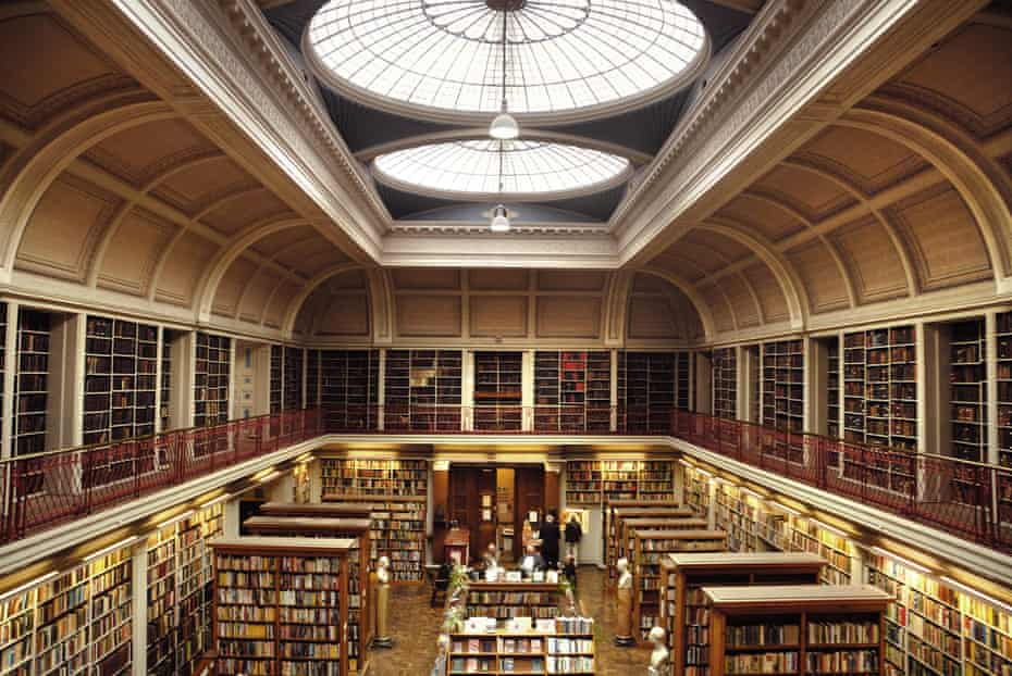 Interior of the Literary and Philosophical Society, Newcastle upon Tyne