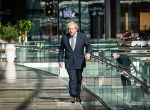 London, England, Boris Johnson visits retail outlets in Westfield Stratford