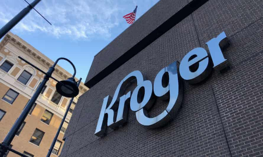 Police say the incident happened Monday at a Kroger store in Cincinnati.