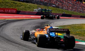 Lando Norris drove superbly in the Austrian Grand Prix, finishing in sixth place.