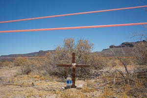 The Cabeza Prieta wilderness near Ajo, Arizona.