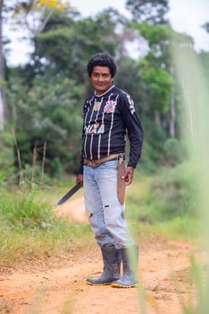José Ribamar, a local seringueiro.