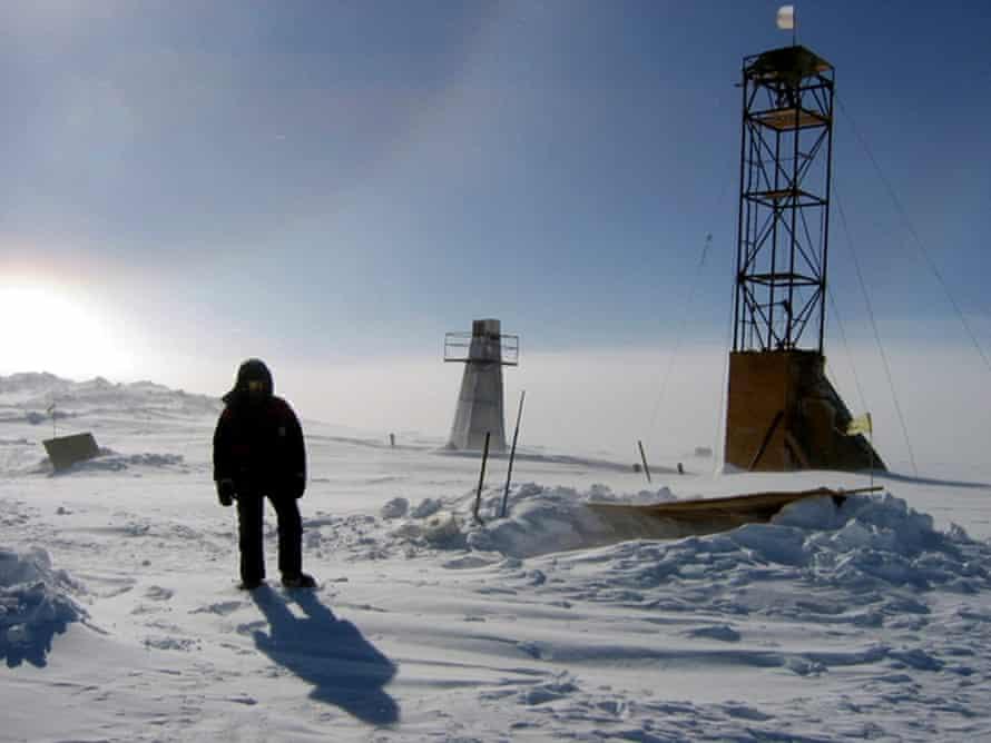 Vostok research camp Antarctica