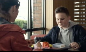 A McDonald's ad about a dead father's love of filet-o-fish sandwiches received 256 complaints