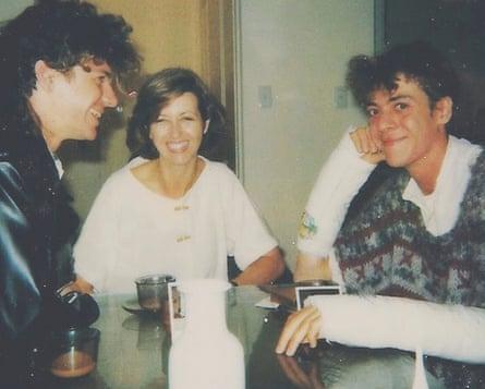 Michael, Tina and Rhett Hutchence.