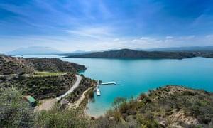 Lake Negratin, Sierra de Baza, Granada Province, Andalusia, Spain