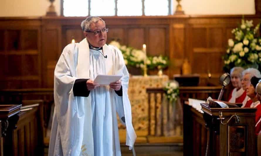 The late Reverend Ian Godfrey.