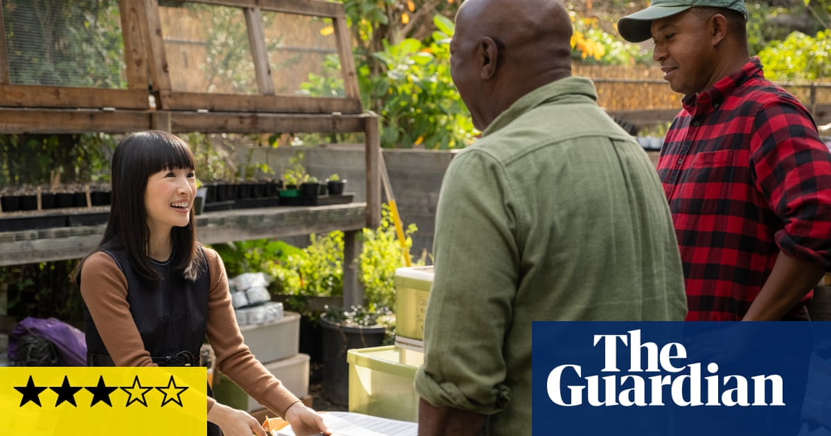 Sparking Joy With Marie Kondo review – the guru who could talk you into a burning car