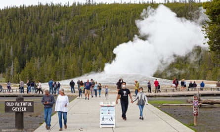 National parks such as Yellowstone have a huge backlog of work that crews have been unable to perform.