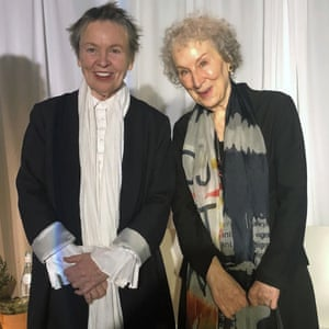 Double visions … Anderson, left, and Atwood in 2019.