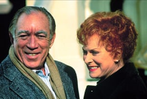 Starring alongside Anthony Quinn in Only The Lonely, 1991