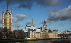 Wilson allegedly flew a drone over landmarks including the Houses of Parliament.