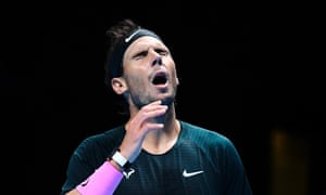 Rafael Nadal won the first set against Daniil Medvedev but the Russian fought back brilliantly to set up an ATP World Tour Finals showdown with Dominic Thiem.
