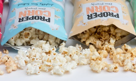 Propercorn: 'one of the first new breed of popcorn brands', says founder Cassandra Stavrou.