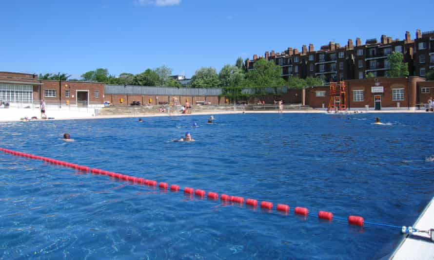 Parliament Hill Lido in London is one of the pools reopening on 11 July.