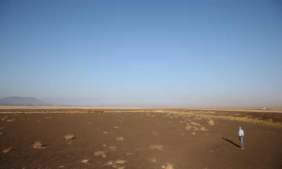 North-west NSW farmer John Hamparsum is out of water and says the drought is at crisis point